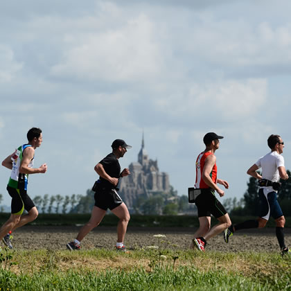 Run In Mont Saint-Michel