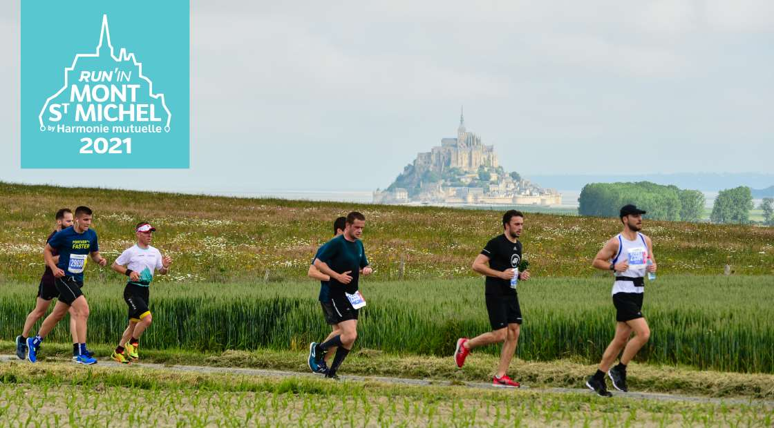 Run In Mont Saint-Michel by Harmonie Mutuelle