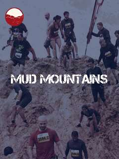 Mud mountains